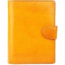 ITALSKÉ Žluté dámské peněženky malé 8075 gallo