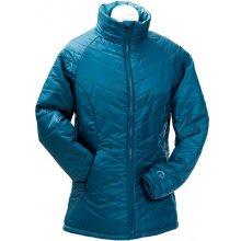 Mamalila prošívaná těhotenská a nosící bunda pro dva modrá