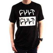 Cult STACK LOGO T Shirt Black