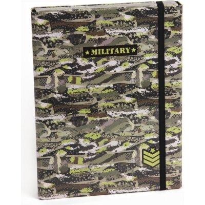 Stil s klopou A4 Military 1524025