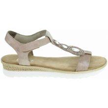 db62823a6db1 Rieker dámské sandály 63184-62 beige