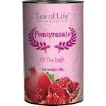 Tea of Life černý čaj granátové jablko sáčkový 60 ks