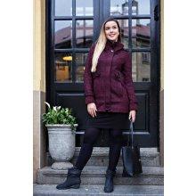 BOYSEN'S Outdoorový kabátek vínová/černá