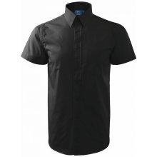 pánská Shirt short sleeve krátký rukáv černá