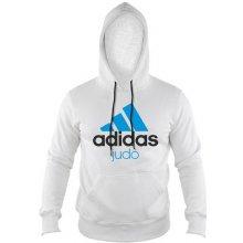 Adidas ComLine Judo mikina bílo-modrá