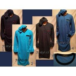 Klasik pánská noční košile dl.rukáv s čepičkou tm.modrá od 289 Kč ... 945d6f276e