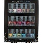 2K Let´s Get Colourful lak na nehty lak na nehty 18x 3,5 ml dárková sada