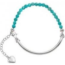 Stříbrný náramek Hot Diamonds Festival Turquoise DL307