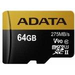 ADATA microSDXC 64GB UHS-II U3 AUSDX64GUII3CL10-C