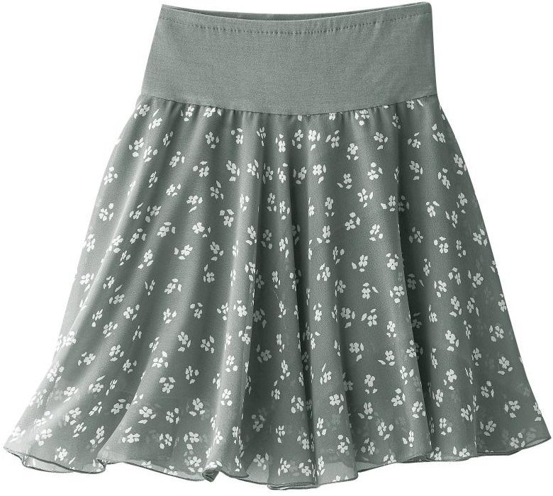 bd14c374e5b Dámská sukně Blancheporte rozšířená sukně s potiskem květin ...