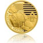 Česká mincovna Zlatá mince Válečný rok 1942 Projekt Manhattan 3,11 g