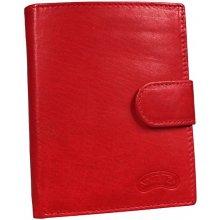 Nivasaža N75 MTH R dámská kožená peněženka červená