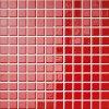 Opoczno Palette red - obkládačka mozaika 30x30 červená lesklá