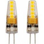Tesla LED žárovka G4 2W LED žárovka, G4, 230V, 2W, teplá bílá, 200lm, 3000K