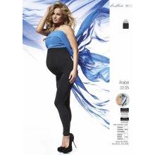 tehotenské legíny Anabel 200 DEN šedá