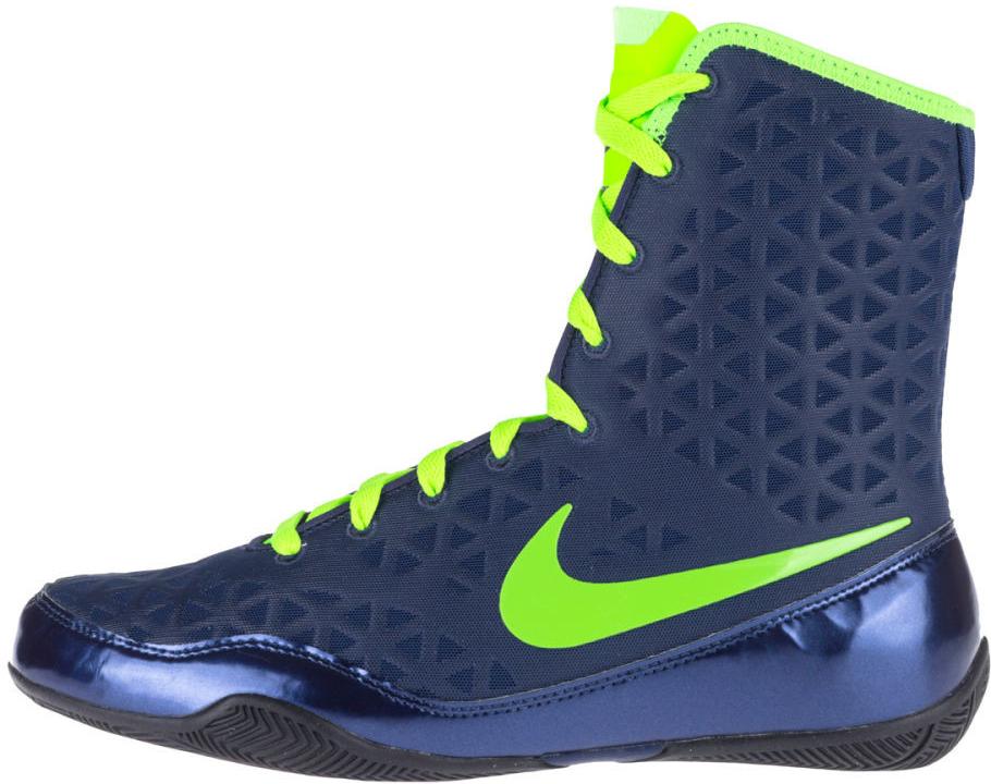 Nike KO Boxerské boty modrá neon. zelená modrá od 3 790 Kč - Heureka.cz dad9394c70e