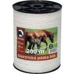 Elektrická páska STANDARD bílá 20mm 200m