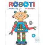 Omalovánky A5 Roboti