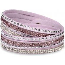 Troli náramek Wrap 4x Orient Lavender Blush
