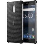 Pouzdro Nokia Carbon Fibre Design Nokia 6 černé