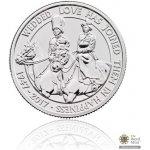 Česká mincovna Stříbrná mince Platinová svatba fine 15,71 g