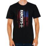 Galaxyshop.cz Pánské tričko Far Cry 5 Americká Vlajka 32e1652ca5