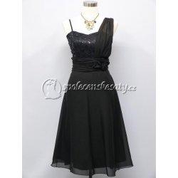 84956bb26c9 Koktejlové společenské šaty pro plnoštíhlé černá alternativy ...