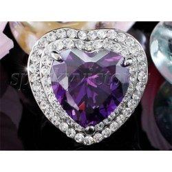 Prsten Fialovy Safir Swarovski Krystaly Xr181 Alternativy Heureka Cz