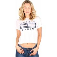 Tommy Hilfiger dámské tričko Basic bílé 14644f9583