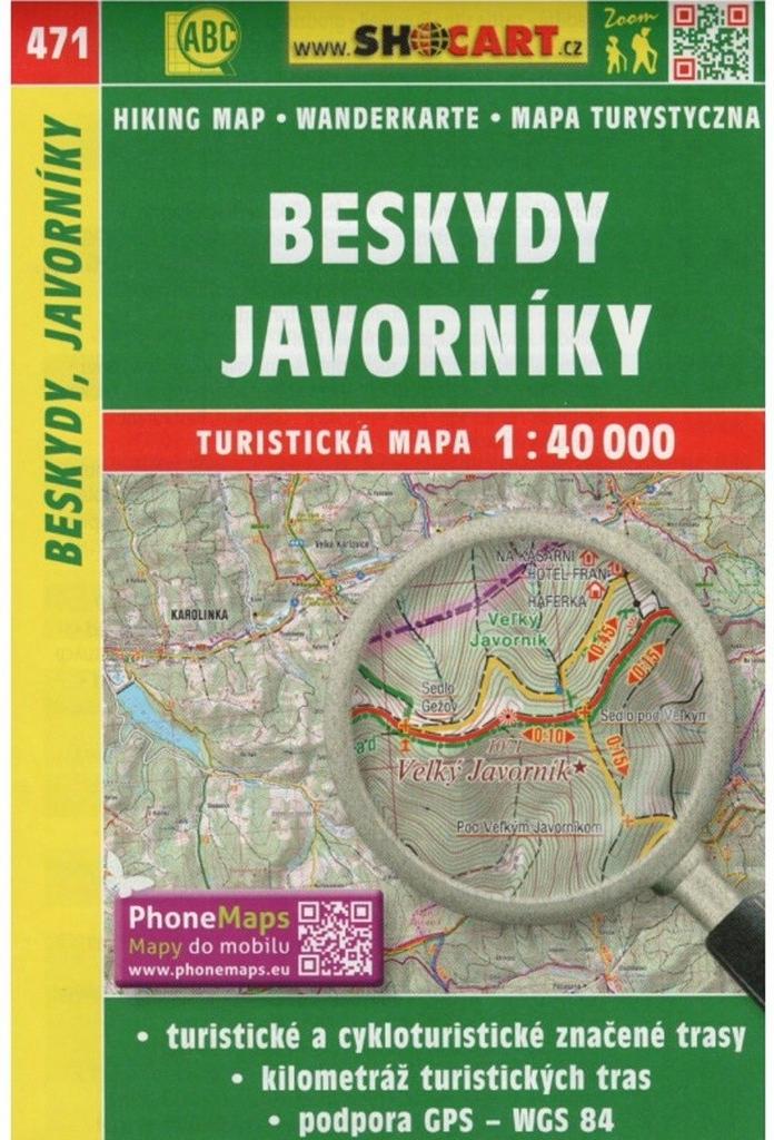 Beskydy Javorniky Turisticka Mapa 1 40 000 Od 79 Kc Heureka Cz