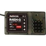 Přijímač R4EH-G 4CH FHSS 2.4GHz s gyroskopem