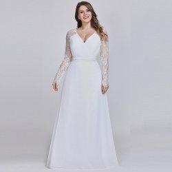 9f87b488dd20 Dámské svatební šaty Svatební šaty pro plnoštíhlé