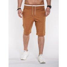 Pánské kalhoty OMBRE P403 CAMEL