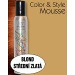 Omeisan Color & Style Mousse tužidlo (blond střední zlaté) 200 ml