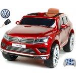 Beneo elektrické auto Volkswagen Touareg s 2.4G DO EVA kola vínová metalíza