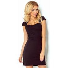 Dámské společenské a casual šaty s krátkým rukávem černá 118576c1b3