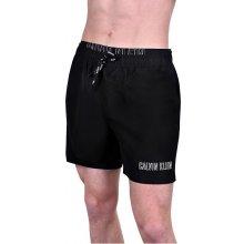 Calvin Klein pánské koupací kraťasy double waistband black 479f4afe01
