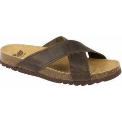Scholl TANGOR tmavě hnědé zdravotní pantofle od 1 457 Kč - Heureka.cz 90b8516a6a