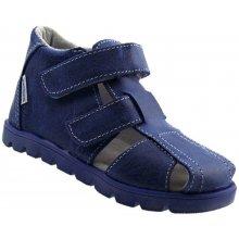da38b843339 Pegres Elite dětské kožené kotníčkové sandály