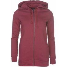 f3f8eb4addd Adidas Essentials Full Zip Hoody Ladies Myserty Ruby