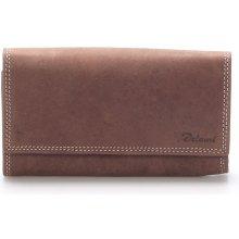 Delami Dámská kožená peněženka hnědá Guara hnědá