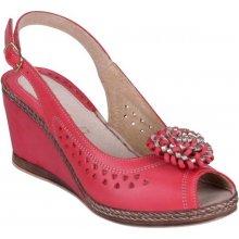 ARIANNA kožené sandály klínek 525057