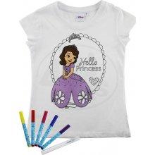EP Line ReDraw Dívčí kreativní tričko Sofie první