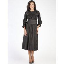 995ed00e16b5 Carla by Rozarancio dámské šaty CR18F P3001 dark grey