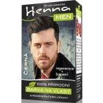 Henna Men barva na vlasy pro muže černá 33 g