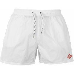Koupací kraťasy pánské Replay 5 Basic Swim White