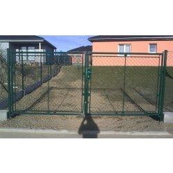 Zahradní brána dvoukřídlá