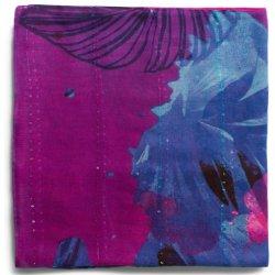7f7c5027b35 Desigual růžový šátek Corel Rectangle s barevnými květy alternativy ...
