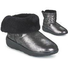 FitFlop kotníkové boty SUPERCUSH MUKLOAFF SHIMMER Stříbrná