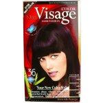 Visage barva na vlasy 36 baklažán